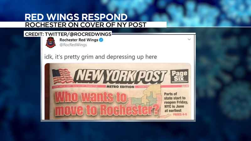 rochester makes new york post cover  not so  u0026 39 grim and