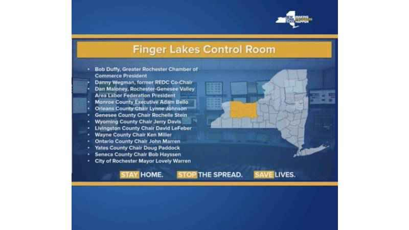 Cuomo: Finger Lakes region to begin reopening May 15