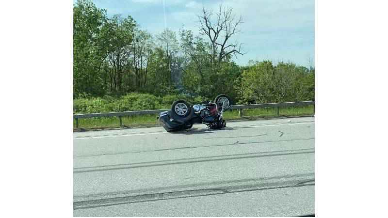 Deputies: Motorcyclist 'in guarded condition' after crash on I-390 South