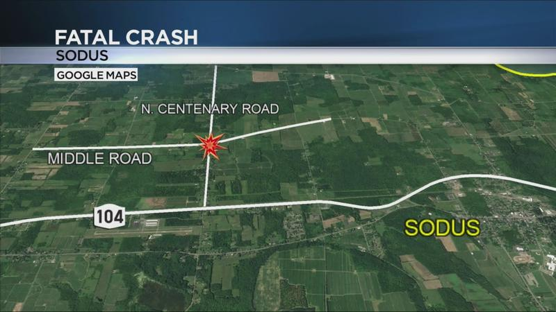 80-year-old woman dead after crash in Sodus