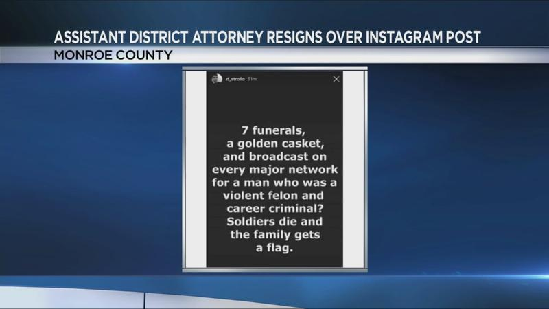 Assistant district attorney resigns over social media post