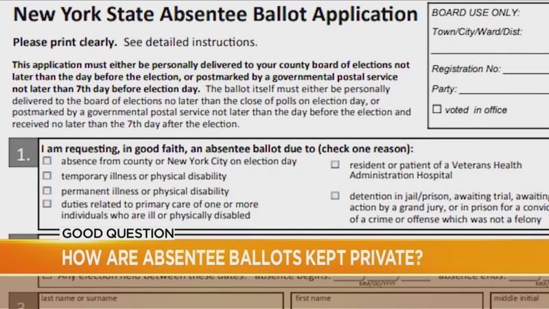 Good Question: How are absentee ballots kept private?