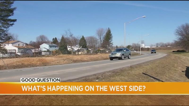 Good Question: What's going up on the west side?