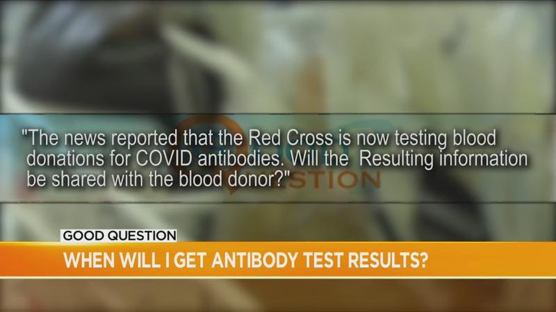 Good Question: What about testing for blood donors?