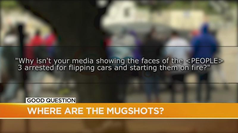 Good Question: Where are the mugshots?