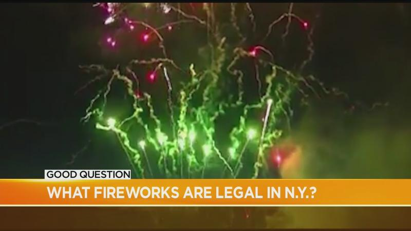 Good Question: Which fireworks are legal?