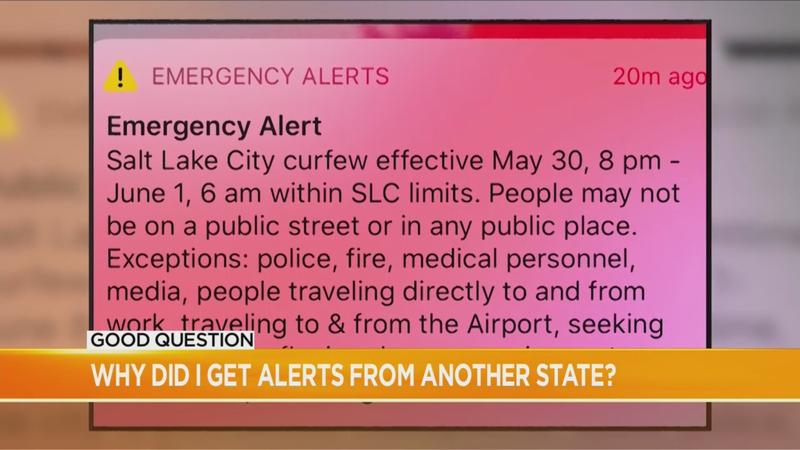 Good Question: Why did I get emergency alerts from another state?