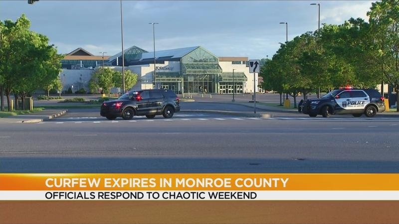 Monroe County lifts curfew at 6 a.m. Monday