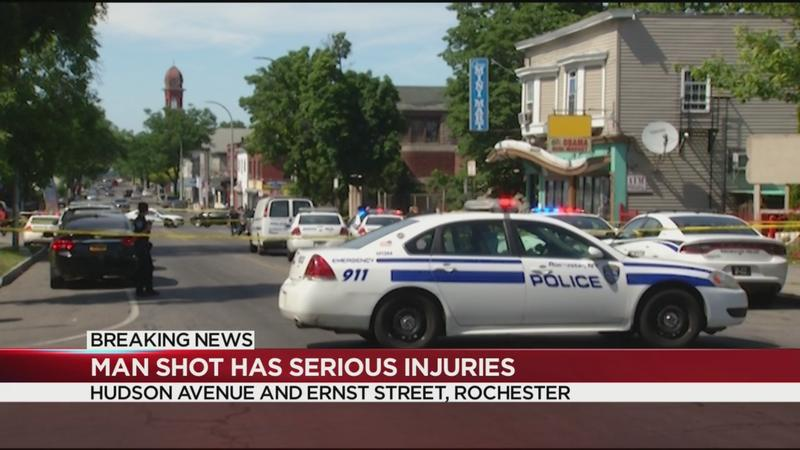 Police investigating shooting on Hudson Avenue