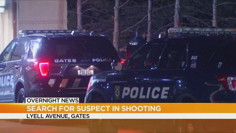 Police search for suspect after a shooting in Gates
