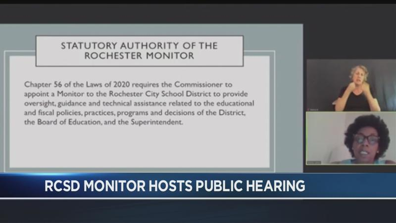 RCSD holds public meeting with state-appointed monitor