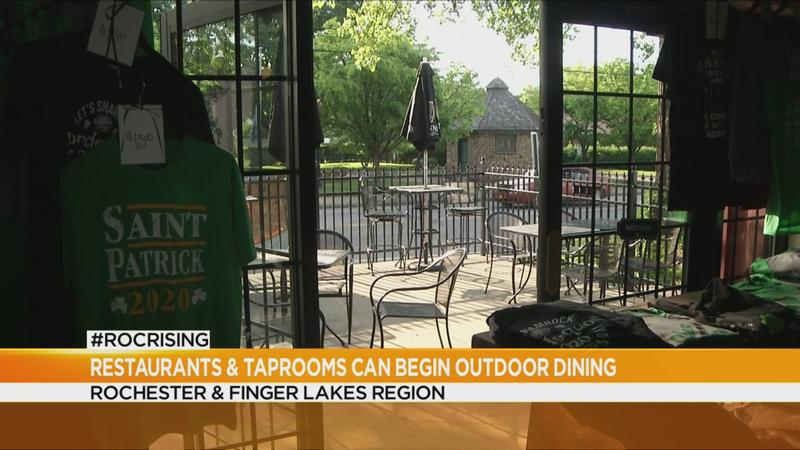 Restaurants, taprooms open for outdoor dining