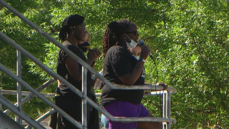 'Anti-4th of July' rally takes place