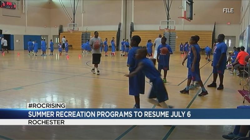 City's summer camps to start July 6