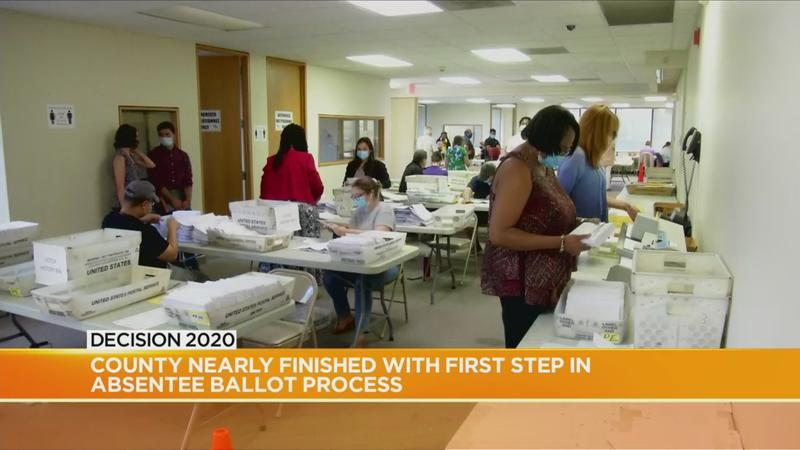 County officials to start certifying absentee ballots