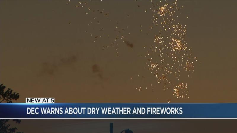 DEC issues Fire Danger Warning for Fourth of July weekend