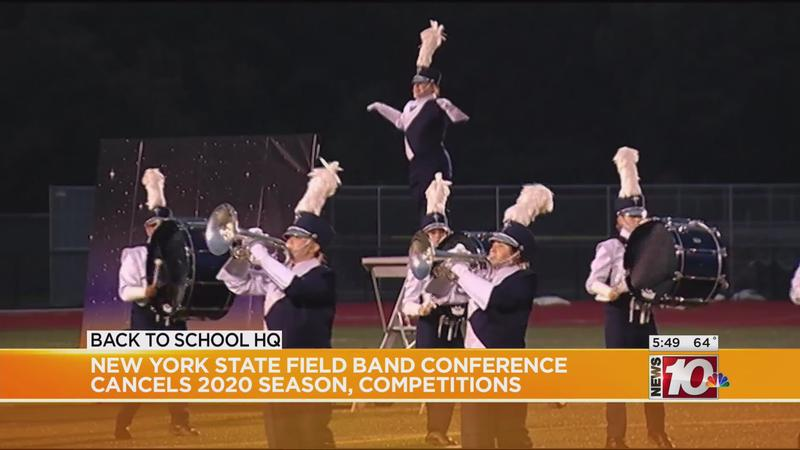 NY marching band 2020 season canceled