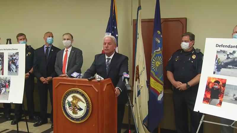 Federal arson charges announced for 4 arrested after Rochester protest turned violent