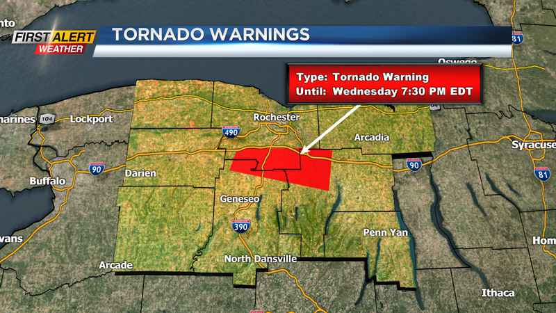 tornado warning canceled for southern county