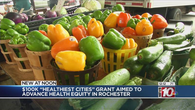 $100K 'Healthiest Cities' grant aimed to advance health equity in Rochester