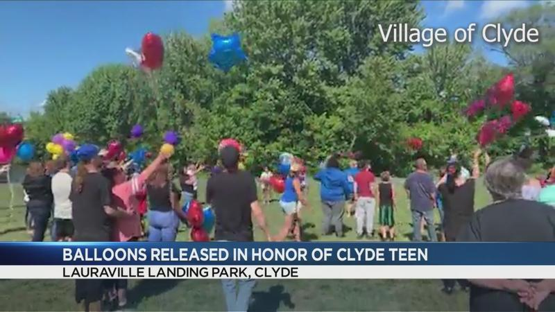 Community holds balloon release to remember 13-year-old boy killed in crash