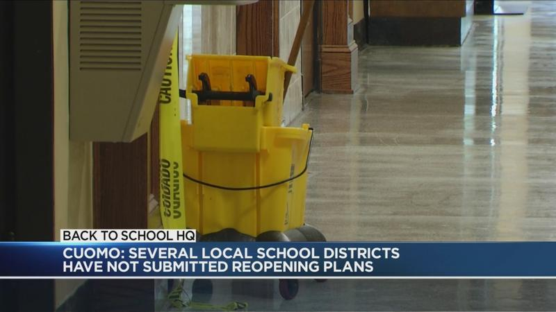 Disconnect as districts say they did submit reopening plans after Cuomo says they didn't
