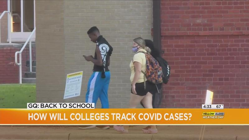 Good Question: How will colleges track COVID-19 cases?