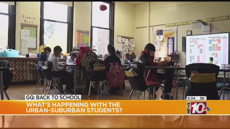Good Question: What's happening with Urban-Suburban students?