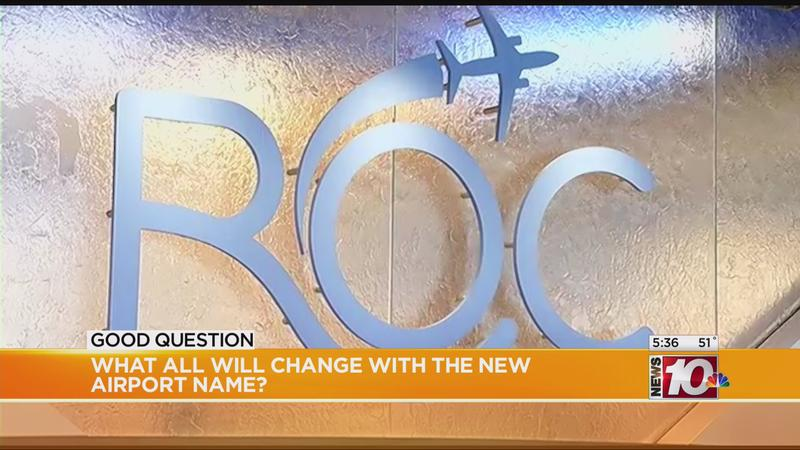 Good Question: What all will change with airport's new name?