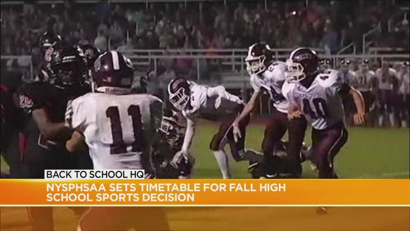 NYS Public High School Athletic Association sets timetable for fall sports decision