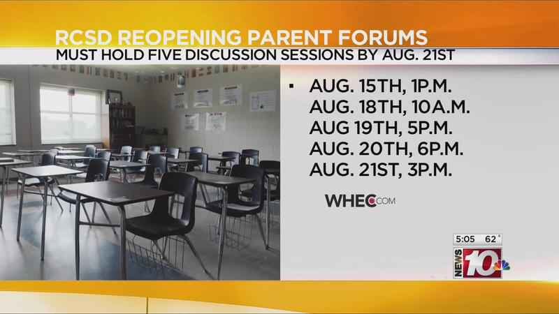 RCSD to host first reopening parent forum on Saturday