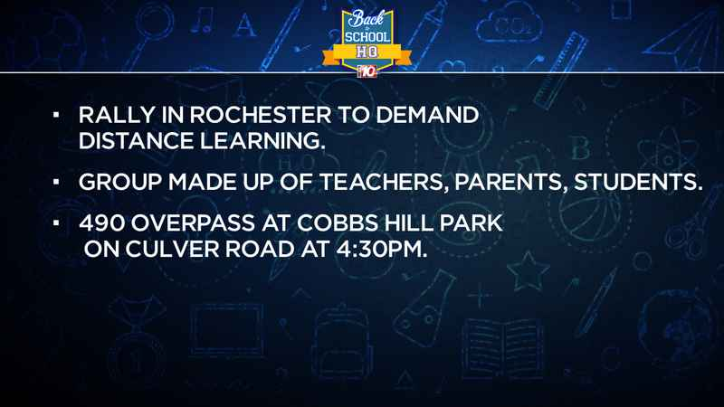 Rally planned in Rochester over reopening plans