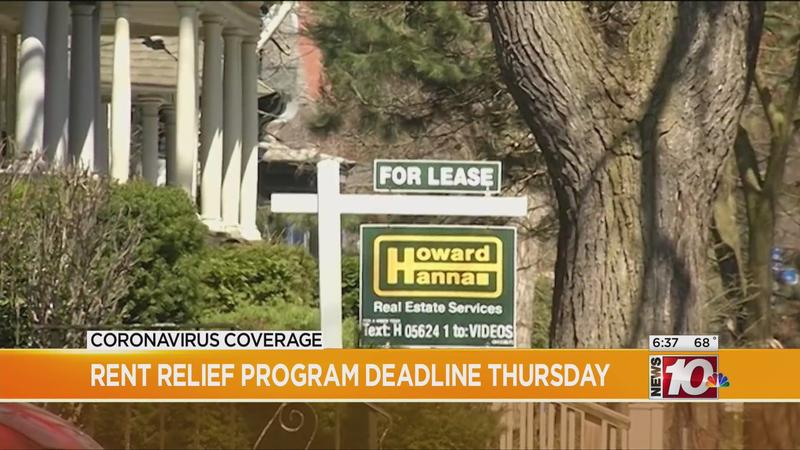Rent relief application deadline extended to Thursday