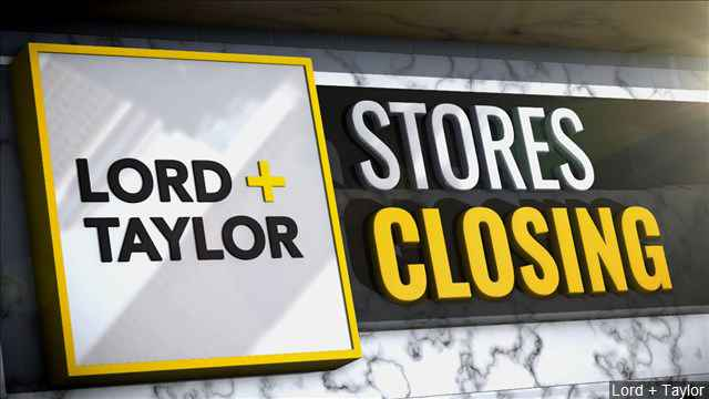 Lord & Taylor store at Eastview Mall to close