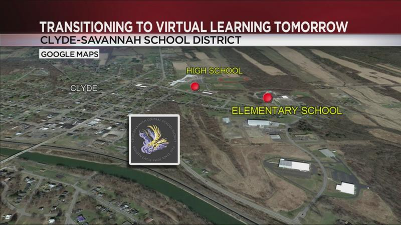 Clyde-Savannah schools to transition to virtual learning after positive COVID-19 case