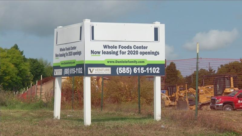 Construction underway on Whole Foods project in Brighton