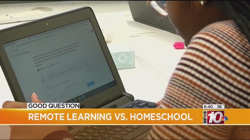 Good Question: Homeschooling vs. remote learning?