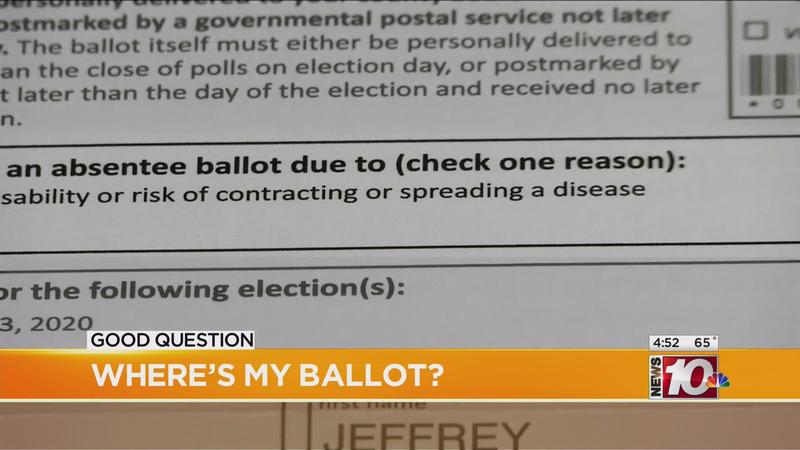 Good Question: Where's my ballot?
