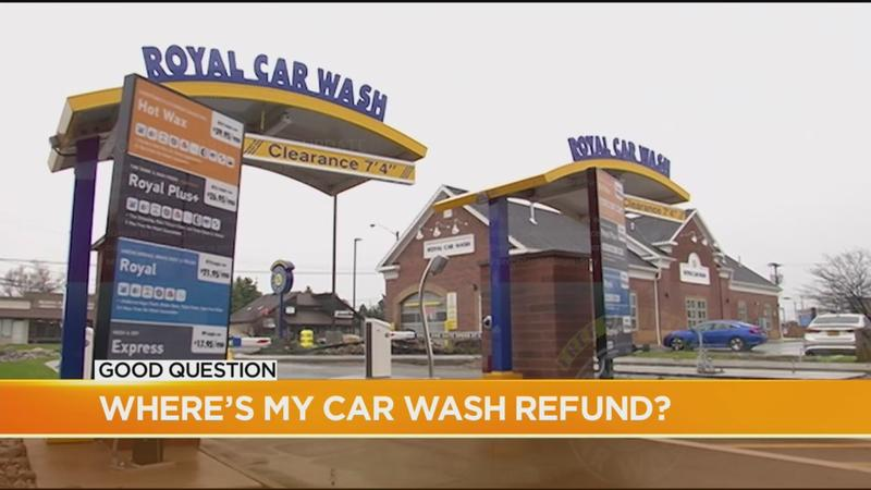 Good Question: Where's my car wash refund?