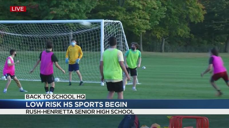 Low-risk fall sports resume in Monroe County high schools