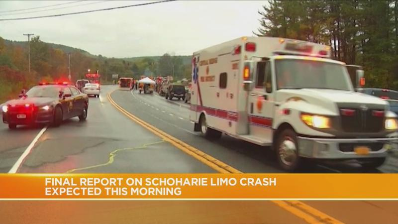 NTSB to release final report on Schoharie limo crash