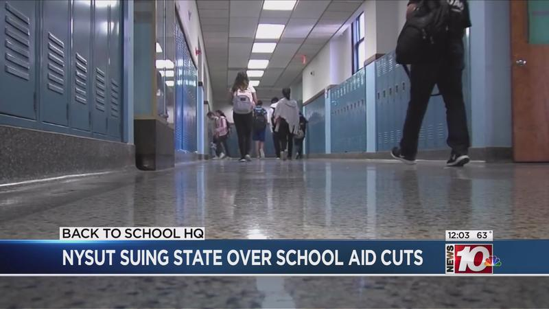 NYSUT suing state over cuts to school funding