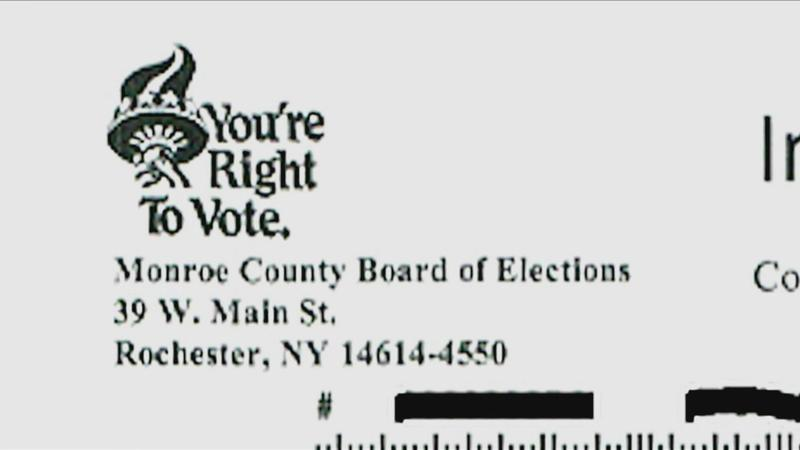 News10NBC Investigates: Voting letters mailed to 'inactive' voters registered in other counties