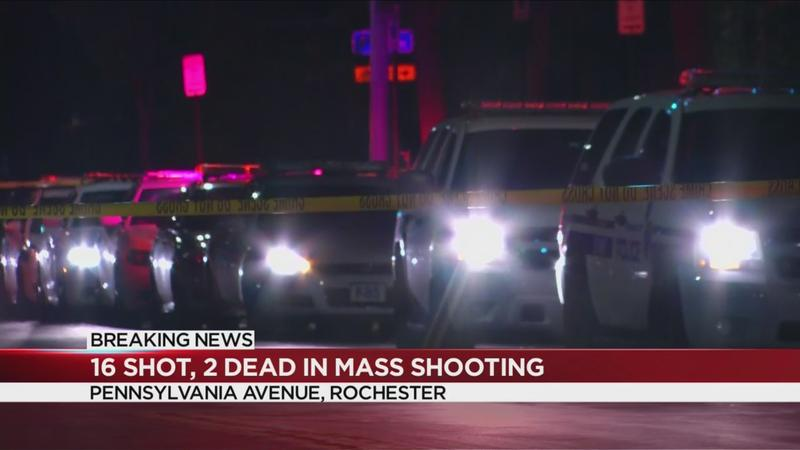 RPD: 2 dead, 16 shot in mass shooting on Pennsylvania Avenue | WHEC.com