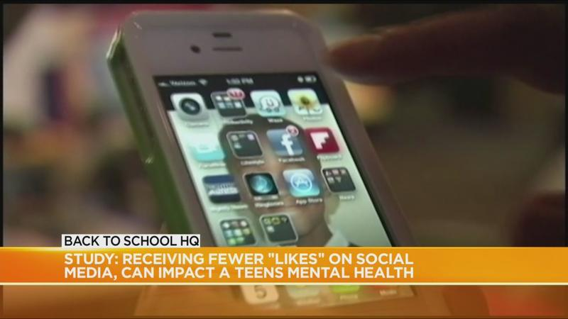 Study: Fewer social media 'likes' could impact teens' mental health