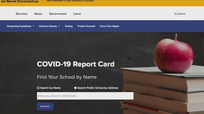 Tracking COVID-19 cases inside local schools