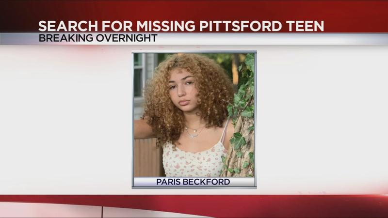 Search continues for missing Pittsford teen