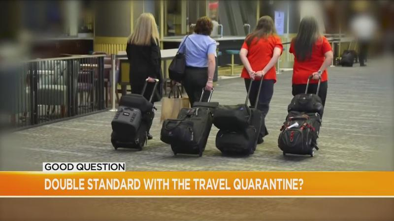 Good Question: Is there a double standard for travel quarantine rules?