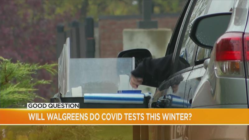 Good Question: Will Walgreens do COVID tests this winter?