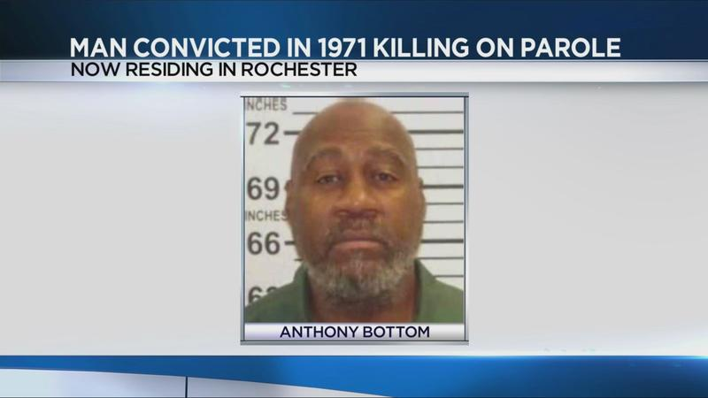Man convicted in 1971 killing of 2 NYPD officers out on parole in Rochester